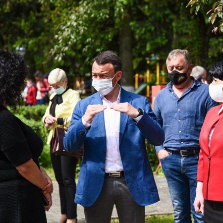 Санаторій Малятко - Відкриття лікувально-реабілітаційного корпусу після реконструкції