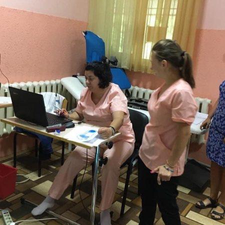 Санаторій Малятко - Безкоштовна консультація від Центр стопи by Rita Balint для дітей, що на літньому оздоровленні в санаторію «Малятко»