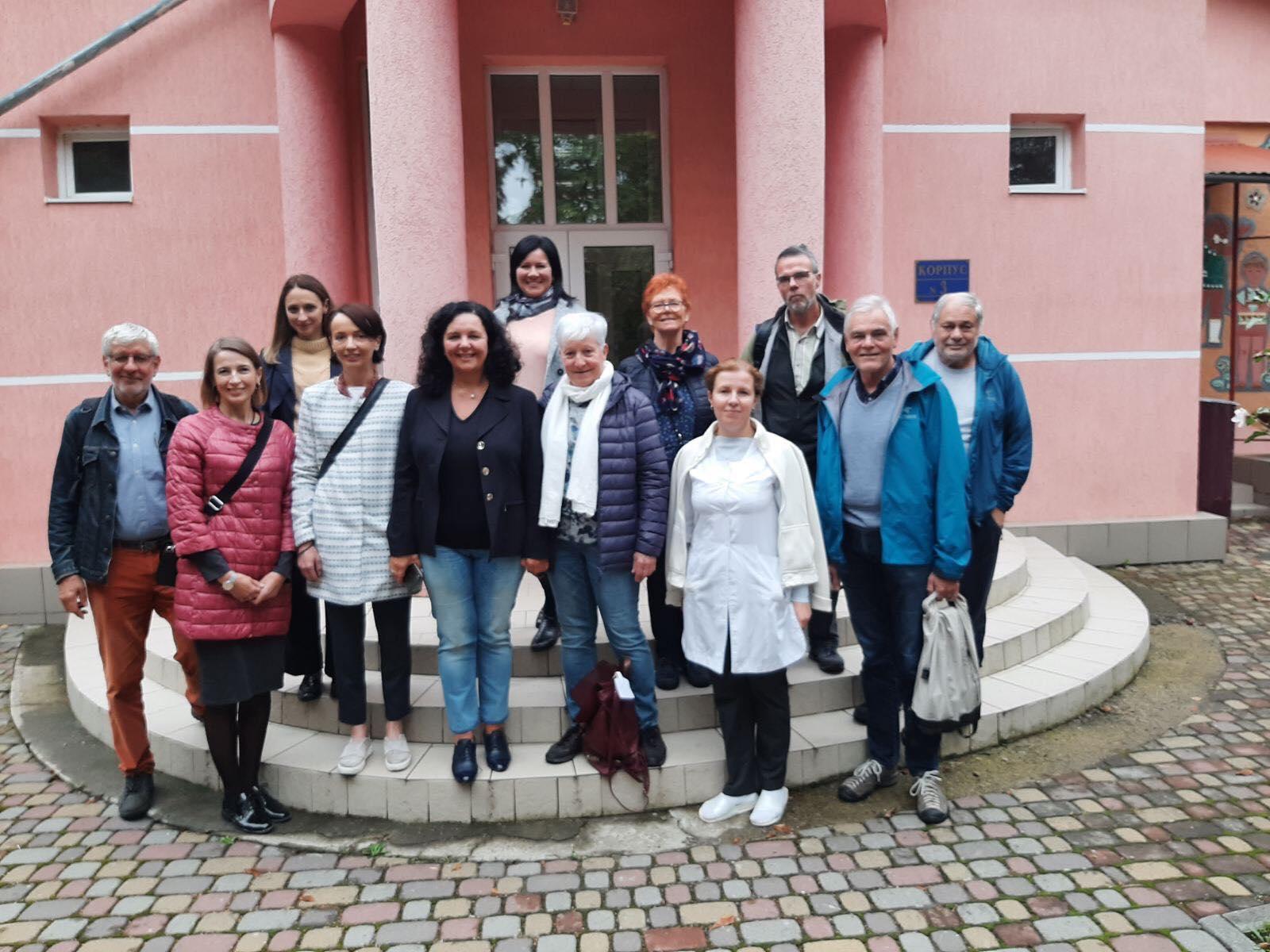 Санаторій Малятко - До нашого закладу завітали представники президії ГО «Парасолька» зі Швейцарії та представники цієї ж ГО з українського боку